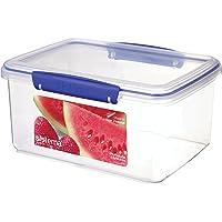Sistema KLIP IT Boîte de conservation alimentaire avec clips bleus 3 l
