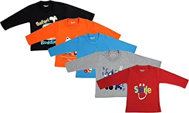 Kuchipoo Boy's Cotton T-Shirt