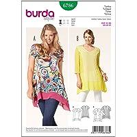 Burda B6786 Patron de Tunique