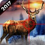 Selvaggio caccia dei cervi 2017: Neve Sniper tiro 3D