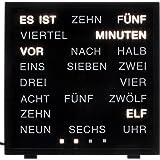 Out of the Blue LED Uhr with Words mit Deutscher Wort-Anzeige