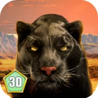 Black Wild Panther Simulator 3D