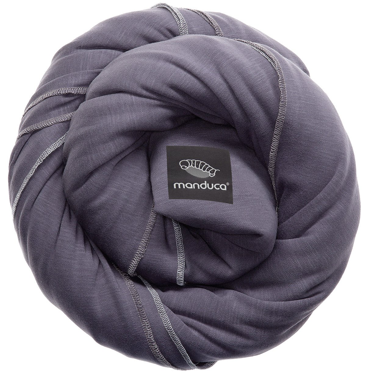Manduca Sling (Slate) Manduca 100% organic cotton, soft, cosy & light knit fabric Elastic and yet stable thanks to bi-elastic knit fabric, without elastine Low in weight 1
