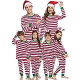 Sykooria Christmas Family Juego de Pijama a Juego Ropa de Dormir de Navidad de Cuerpo Entero Conjunto de Ropa de Dormir de al