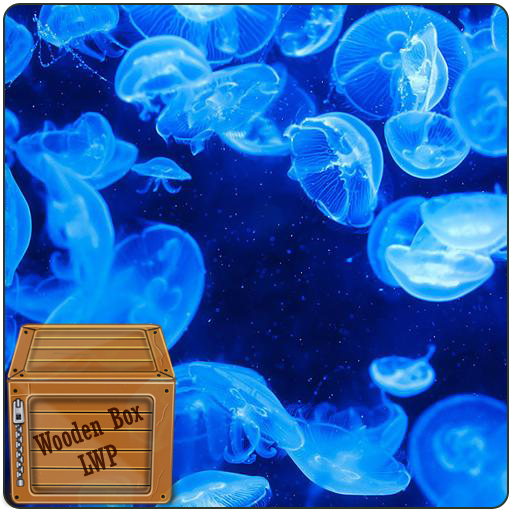 Unterwasserblase Quallen Live Wallpaper
