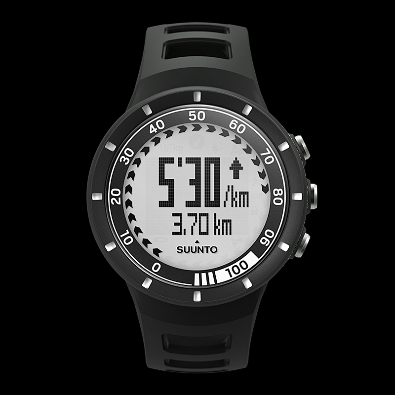 Suunto Sportuhr Quest GPS Pack - GPS de Running