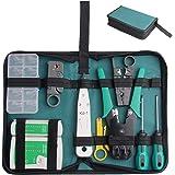 Ctbd 18 PC Professionelles Netzwerk Werkzeug Computer Wartung Reparatur Werkzeuge Kit Kabel Tester Stripper