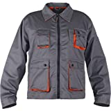 Stenso Desman® - Giacca da Lavoro Multifunzionale - Uomo - Grigio/Arancione