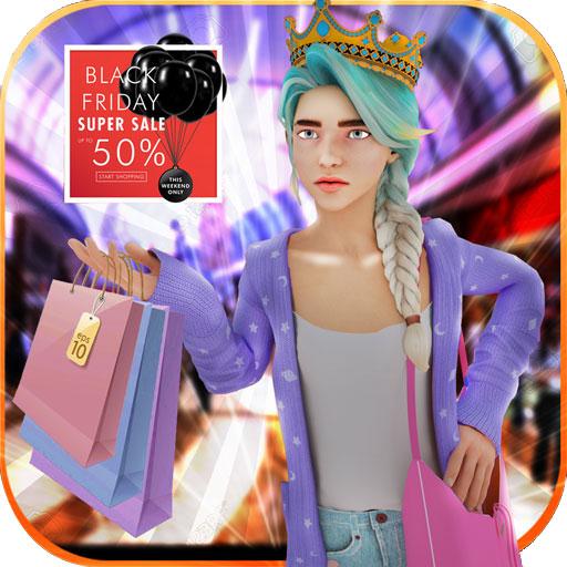 Supermarkt-Kassiererin Mädchen sim: Registrierkasse Spiele