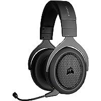 Corsair HS70 Bluetooth Cuffie da Gioco Multipiattaforma, Audio del Gioco e Discussione in simultanea, Compatibile con…