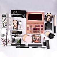 Nude Edition Eyeshadow, Essential Oil, Primer, Foundation, Compact Powder, Loose Powder, Concealer, Eyeliner, Mascara…