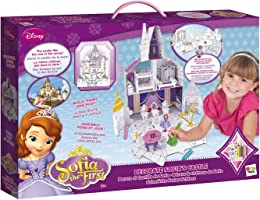 Disney Sofia The First 205086 Decorate Castle, Multi Color