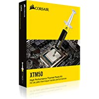 CORSAIR XTM50 High Performance Thermal Compound Paste Ultra-Low Thermal Impedance CPU/GPU, 5 Grams, w/applicator