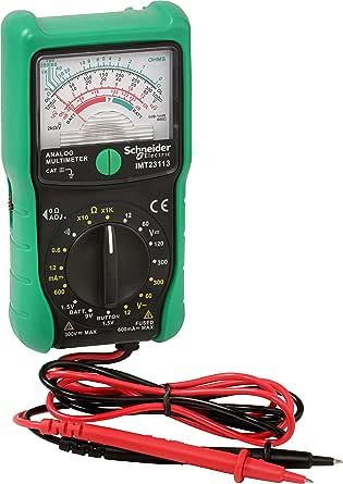 Schneider Electric SC5IMT23222 colore: Verde Multimetro digitale Cat III 600 V