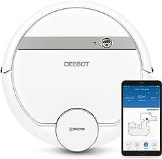 Ecovacs Robotics Deebot, Saugroboter mit intelligenter Navigation, App- und Alexa-Steuerung