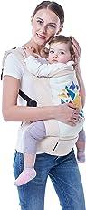 R for Rabbit Hug Me Elite- The Ergonomic Baby Carrier (Cream)