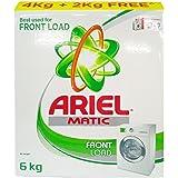 Ariel Matic Detergent Powder - Front Load, 6kg Carton