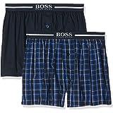 BOSS Herren Schlafanzughose Boxer Shorts Ew, 2er Pack