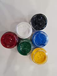 Alpha System Opaque Pigments for Epoxy Resins (Set of 6 40 Gms. Each)