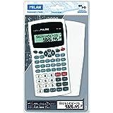 Milan 159110WBL - Calculadora científica, 240 funciones, color blanca