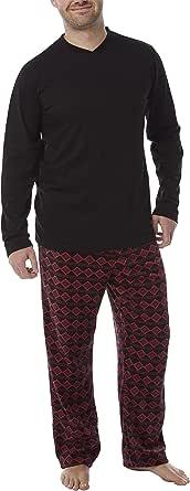Men's Warm Winter Pyjama Set Fleece