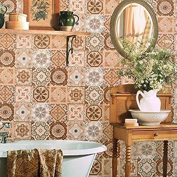 Blooming Wand Werkzeug Zum Lösen Vintage Mosaik Fliesen Tapete - Fliesen lösen sich von der wand