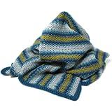 Campervan Blanket Crochet Kit – all-inclusive kit for a vintage-style crochet throw