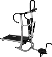 Cockatoo Imported 4 in 1 Manual Treadmill With Stepper & Twister