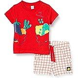 Tuc Tuc Conjunto Camiseta Y Bermuda Punto Cuadros NIÑO Rojo Healthy Life