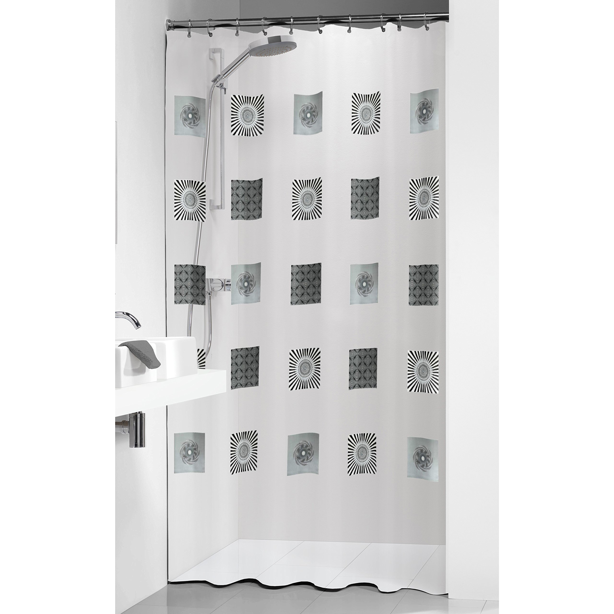 Sealskin Optics Tenda per doccia 180x200 cm colore: Trasparente