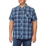Regatta Chemise Manches Courtes À Carreaux Deakin III 100% Coton avec Poche Poitrine Shirts Homme