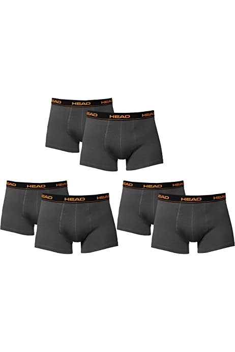 HEAD Hombre Boxers Calzoncillos Calzoncillos 8 Pack black - 4x ...