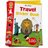 My First Travel Sticker Book: Exciting Sticker Book With 100 Stickers