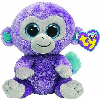 Ty Beanie Boos 36014–Blueberry Monkey Purple
