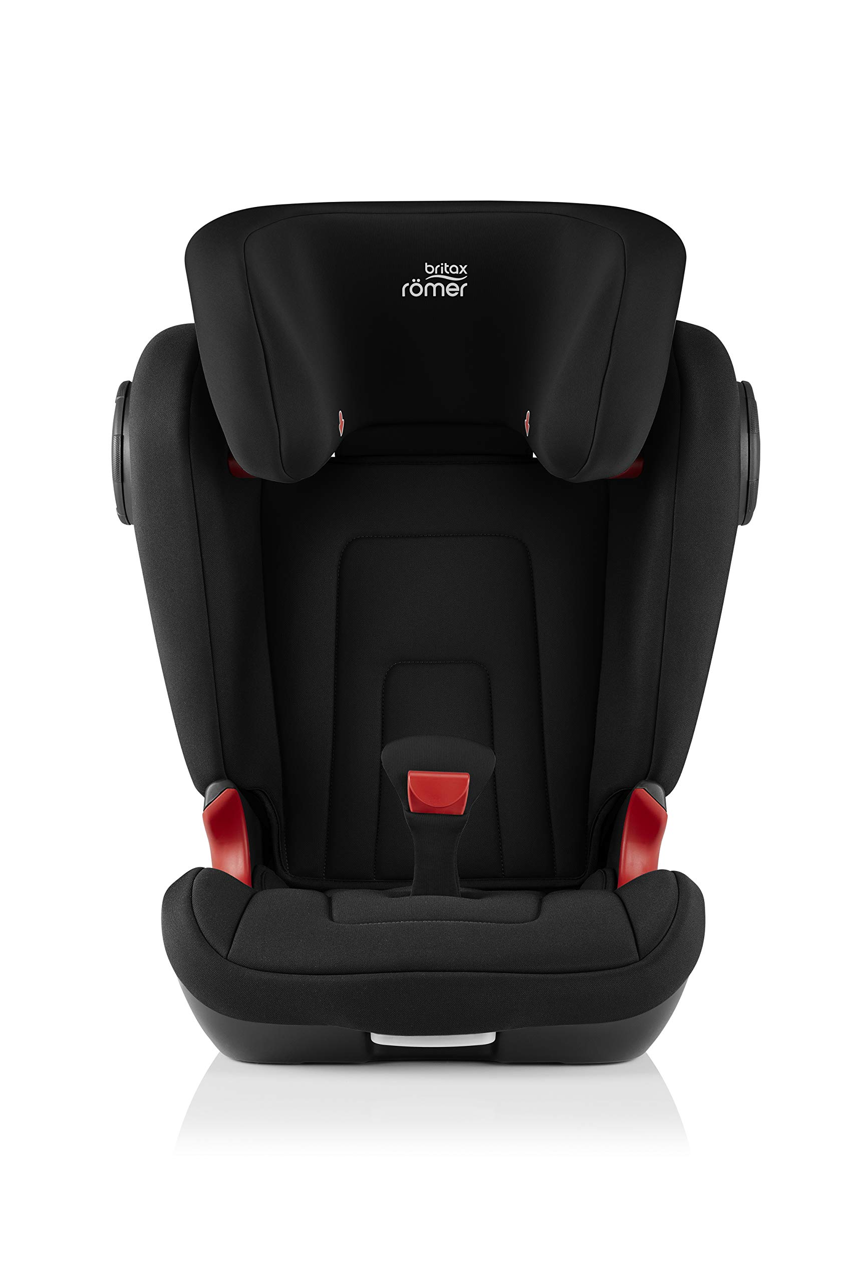 Britax Römer KIDFIX² S Group 2-3 (15-36kg) Car Seat - Cosmos Black  Advanced side impact protection - sict offers superior protection to your child in the event of a side collision. reducing impact forces by minimising the distance between the car and the car seat. Secure guard - helps to protect your child's delicate abdominal area by adding an extra - a 4th - contact point to the 3-point seat belt. High back booster - protects your child in 3 ways: provides head to hip protection; belt guides provide correct positioning of the seat belt and the padded headrest provides safety and comfort. 2
