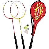Schildkröt Funsports, Schildkröt Badminton Set per 2 Giocatori, 2 Racchette, 2 volani, in Una Custodia da Trasporto, 970902 U