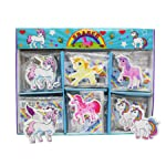 Asera 30 Pcs Unicorn Erasers for Kids Gift Options Birthday Return Gifts- Unicorn Theme Party Gifts