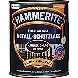 HAMMERITE 5087622 hamerslaglak effectlak zwart 750 ml