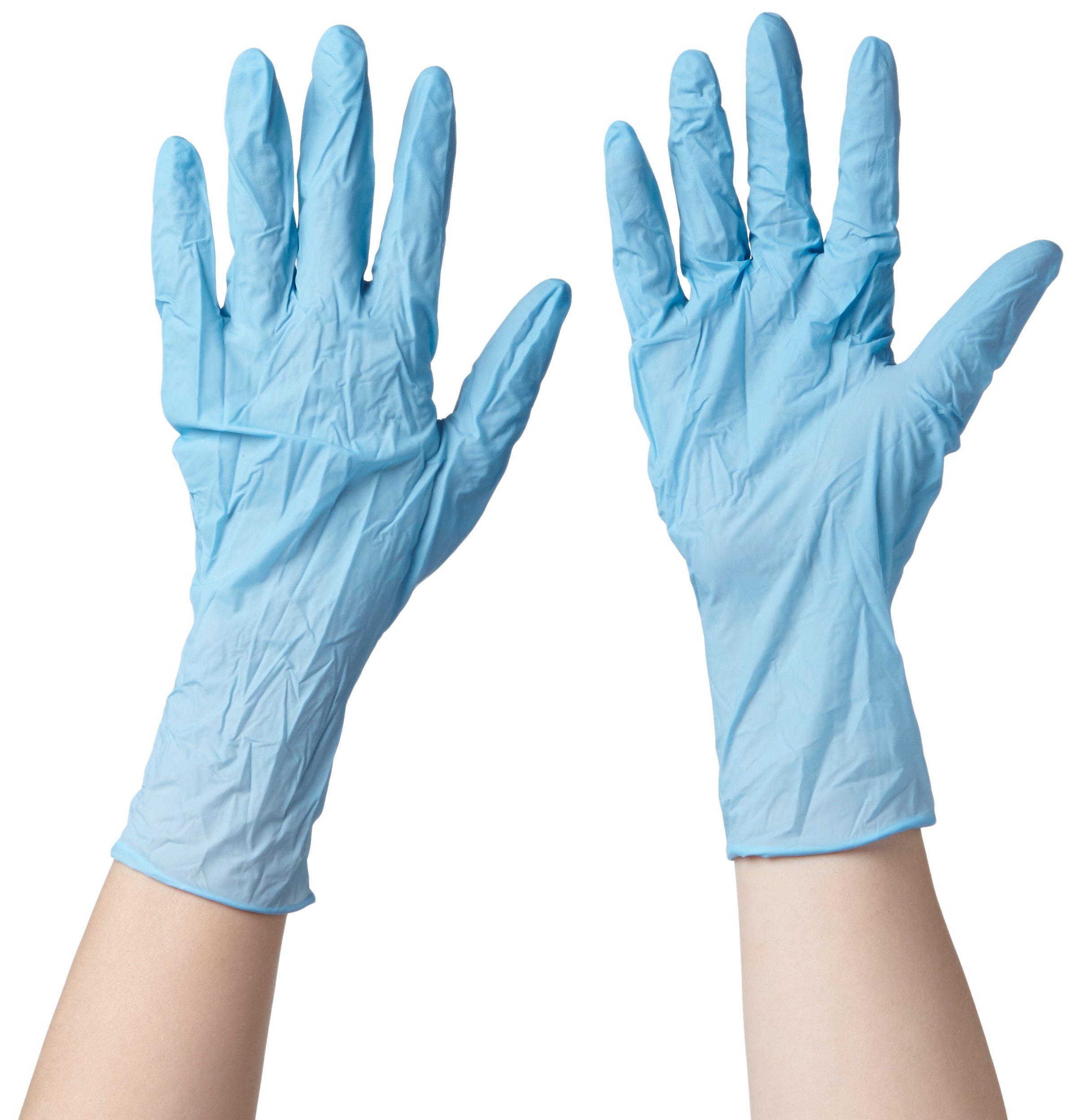 100 X Ansell  TouchNTuff 92-670  Single Use Gloves Nitrile Disposable Powderfree