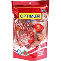 Optimum Happy Fins Cichlid Quick Red Fish Food, 300 g