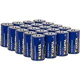 VARTA 04020 211 111 Industrial Batterij D Mono Alkaline Batterijen LR20 - Verpakking met 20 stuks, Made in Germany