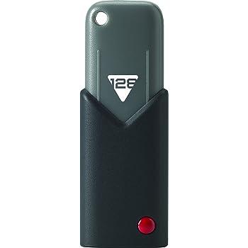 Emtec ECMMD128GB103 - Memoria USB 3.0 Click 128 GB negro y gris