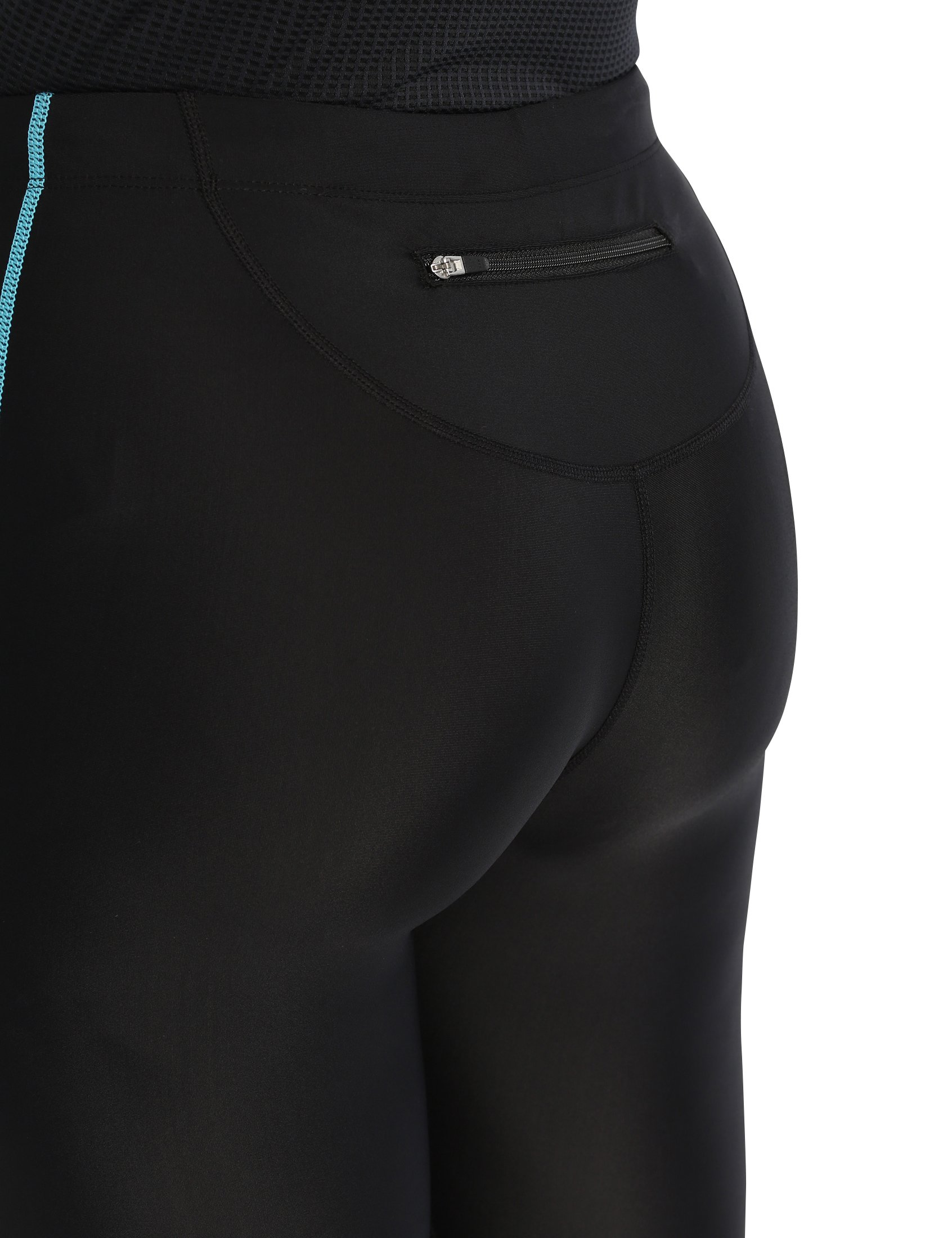 81h3e2bTzqL - Ultrasport Women's Running Pants Capri with Compression Effect & Quick-Dry-Function