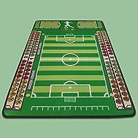 TAPITOM Tapis Enfant Football - 95 x 133 cm