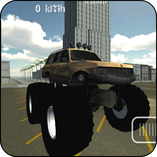 Monster Truck Driver 3D - Jam Spiele Monster