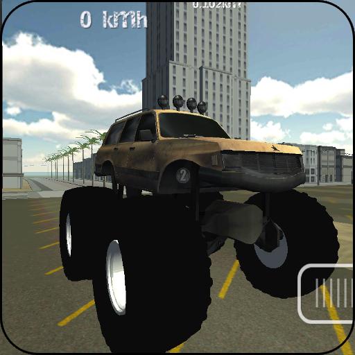 Monster Truck Driver 3D - Spiele Jam Monster