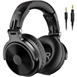 OneOdio Bluetooth Over Ear Headphones - Wireless/Wired 80 Hrs Stereo Bluetooth Headsets Foldable Headset with Deep Bass 50mm