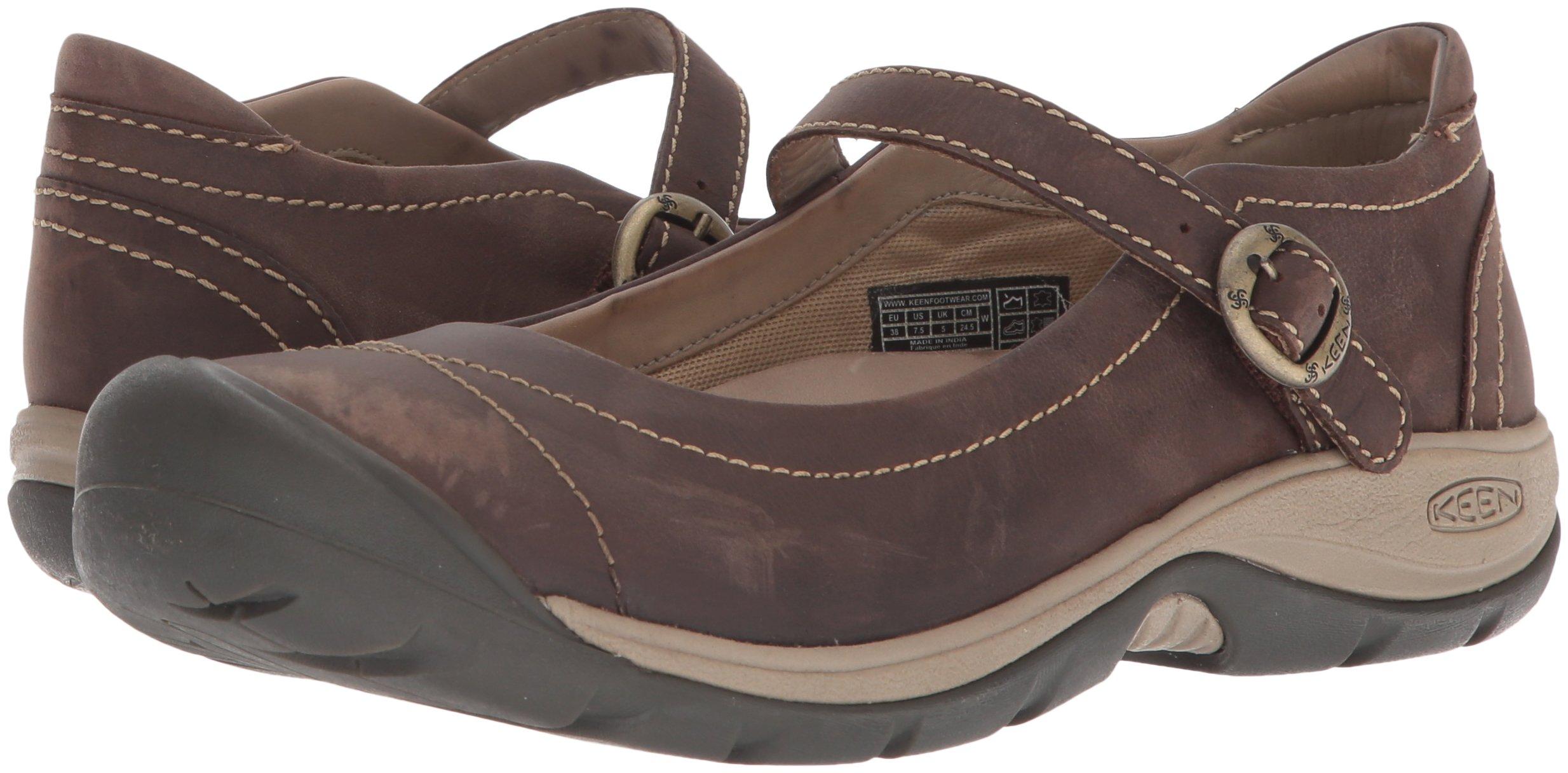 KEEN Women's Presidio II MJ-W Hiking Shoe, Infield/Cornstalk, 8.5 M US 5