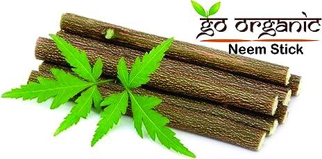 Kaashvi - Organic Neem Chew sticks for healthy teeth and gums - 15 Sticks