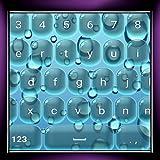Wassertropfen Tastaturen
